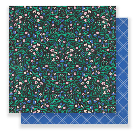 Crate Paper Papers - Maggie Holmes - Flourish - Emma - 2 Sheets