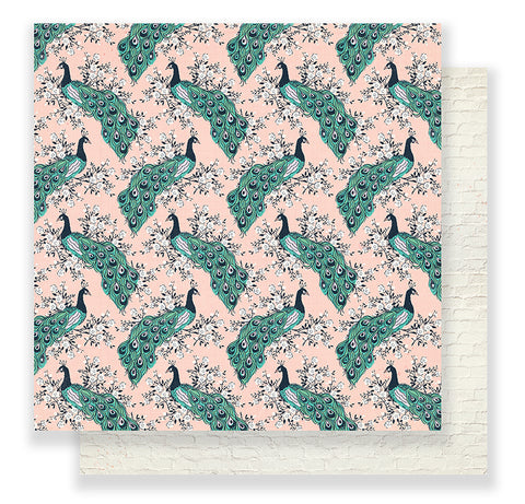 Crate Paper Papers - Maggie Holmes - Flourish - Aviary - 2 Sheets