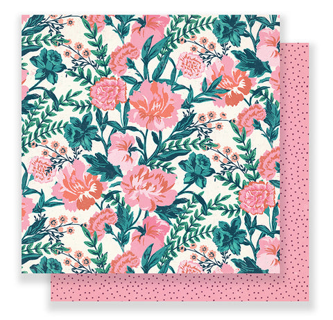 Crate Paper Papers - Maggie Holmes - Flourish - Fragrant - 2 Sheets