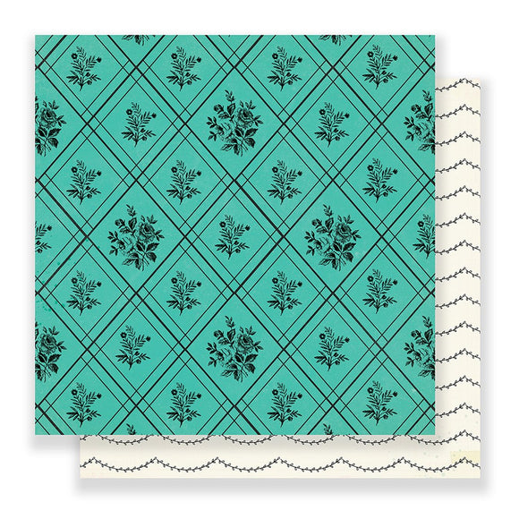 Crate Paper Papers - Maggie Holmes - Flourish - Nostalgic - 2 Sheets