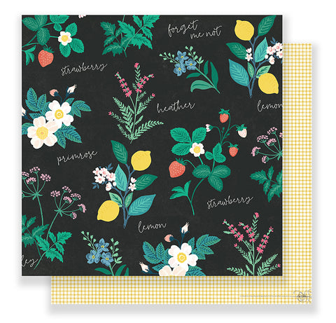 Crate Paper Papers - Maggie Holmes - Flourish - Greenhouse - 2 Sheets