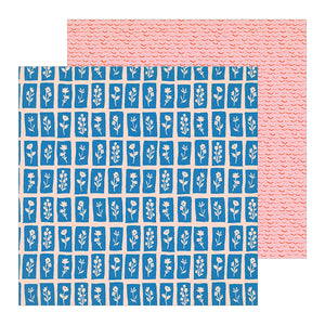 Crate Paper Papers - La La Love - Love Note - 2 Sheets