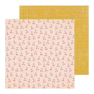 Crate Paper Papers - La La Love - Sugar Sugar - 2 Sheets
