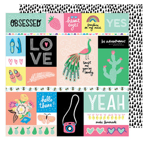 American Crafts Cut-Outs - Amy Tangerine - Sunshine & Good Times - Officially Obsessed