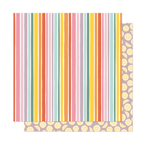 American Crafts Papers - Dear Lizzy - It's All Good - You Bet - 2 Sheets