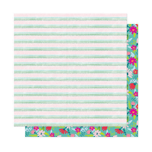 American Crafts Papers - Dear Lizzy - New Day - Stay Humble - 2 Sheets