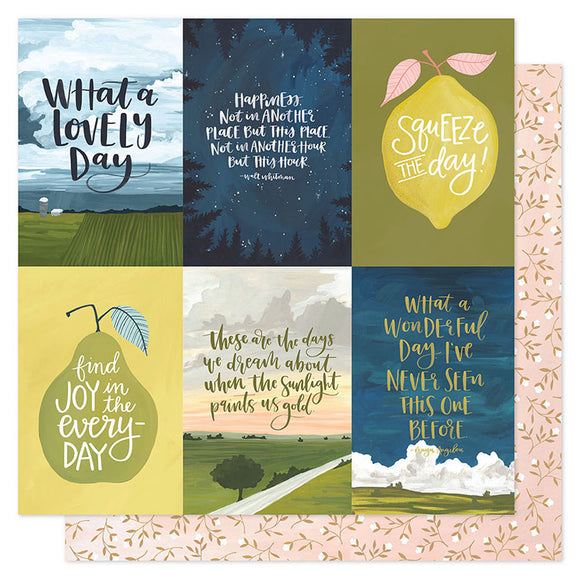 1Canoe2 Cut-Outs - Goldenrod - Golden Quotes