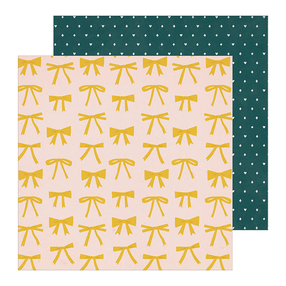Crate Paper Papers - Maggie Holmes - Heritage - Olive - 2 Sheets