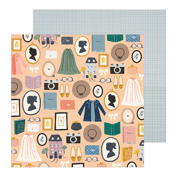 Crate Paper Papers - Maggie Holmes - Heritage - Decades - 2 Sheets