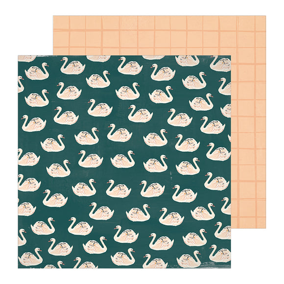 Crate Paper Papers - Maggie Holmes - Heritage - Allie - 2 Sheets