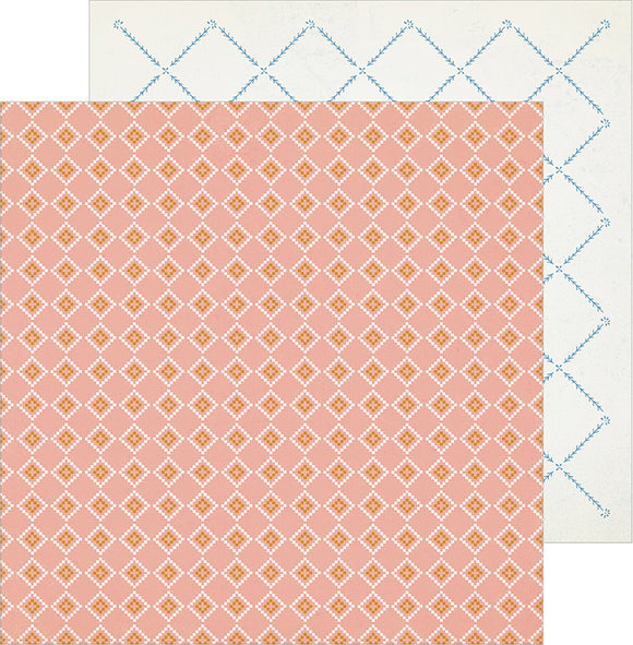 Crate Paper Papers - Maggie Holmes - Heritage - In Memory - 2 Sheets