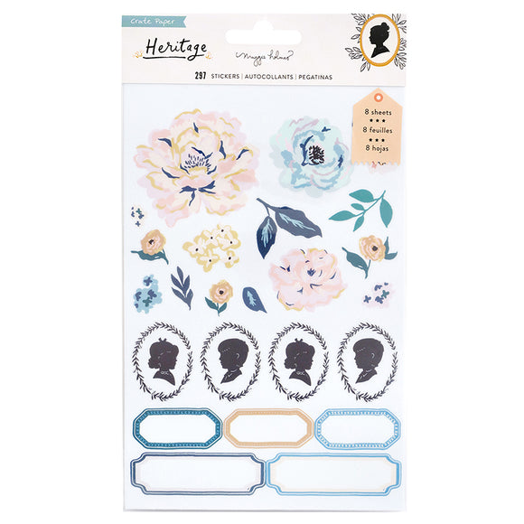 Crate Paper Clear Sticker Book - Maggie Holmes - Heritage