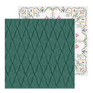 Crate Paper Papers - Snowflake - Icicles - 2 Sheets