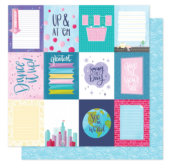 American Crafts Cut-Outs - Shimelle - Sparkle City - Dream Big
