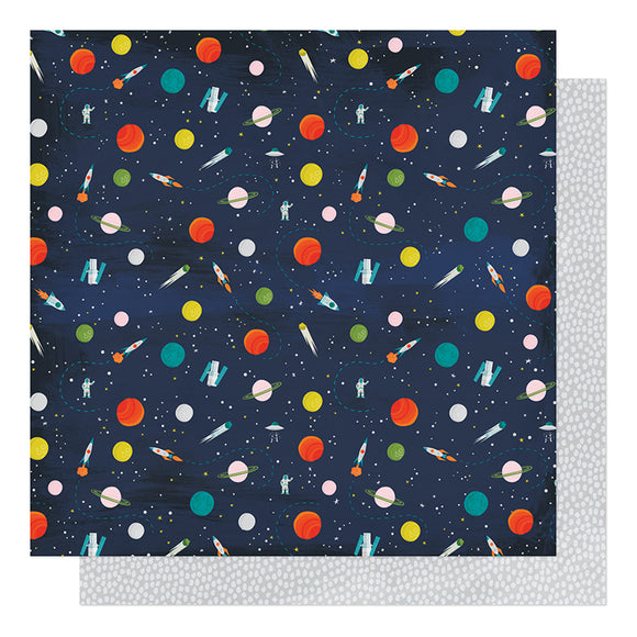 American Crafts Papers - Shimelle - Field Trip - Space Camp - 2 Sheets