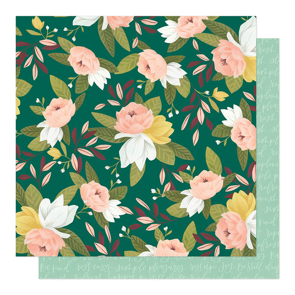 1Canoe2 Papers - Willow - Ambrose Floral - 2 Sheets