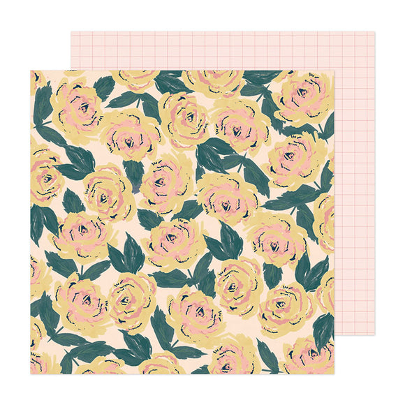 Crate Paper Papers - Fresh Bouquet - Blooming - 2 Sheets