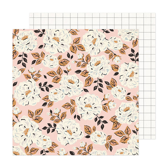 Crate Paper Papers - Fresh Bouquet - Flora - 2 Sheets