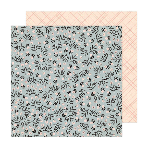 Crate Paper Papers - Fresh Bouquet - Ever After - 2 Sheets