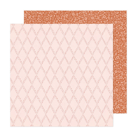 Crate Paper Papers - Fresh Bouquet - Keepsake - 2 Sheets