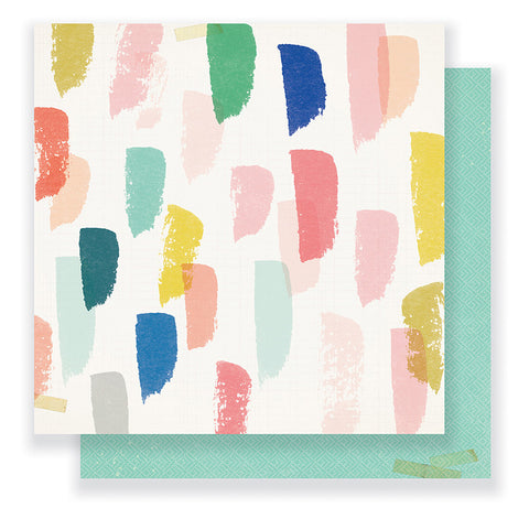 Crate Paper Papers - Gather - Joyful - 2 Sheets