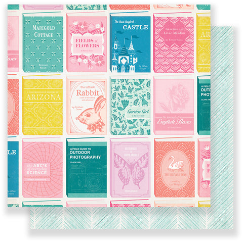 Crate Paper Papers - Maggie Holmes - Chasing Dreams - Library - 2 Sheets