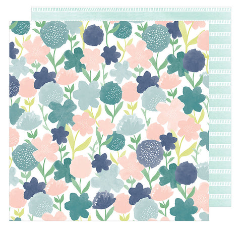 American Crafts Papers - Saturday - Uptown - 2 Sheets