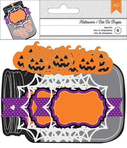 American Crafts Tag Kits - Pumpkin Shaker
