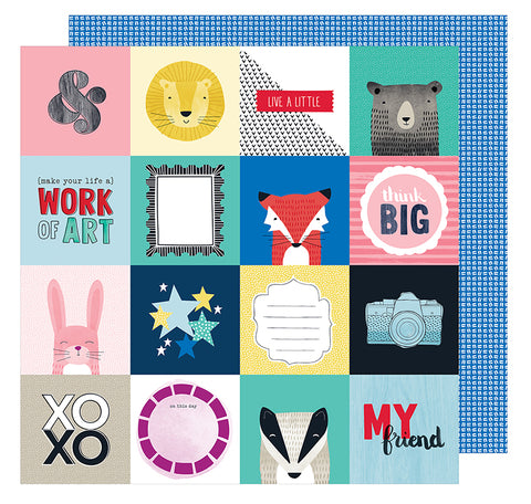 American Crafts Cut-Outs - Shimelle - Little by Little - Think Big