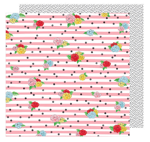 American Crafts Papers - Shimelle - Little By Little - Seeing Magic - 2 Sheets