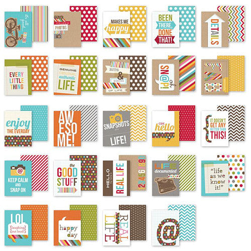 Simple Stories 3x4 Snap Cards - Sayings