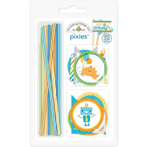 Doodlebug Design Pixies - Hip Hip Hooray