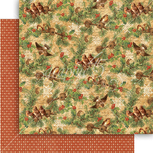 Graphic 45 Papers - Winter Wonderland - Woodland Whimsy - 2 Sheets