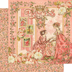 Graphic 45 Papers - Princess - Princess - 2 Sheets