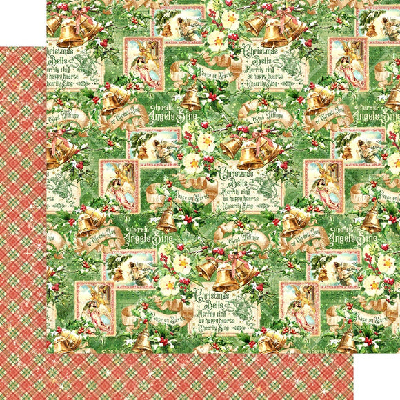 Graphic 45 Papers - Joy to the World - Angels Sing - 2 Sheets