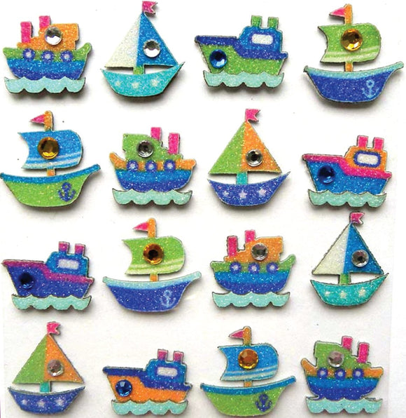 Jolee's Boutique 3D Embellishments - Boat Repeats