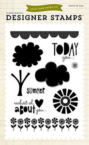Echo Park Clear Stamp Set - Sweet Summertme
