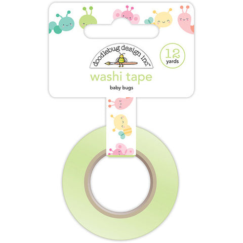 Doodlebug Washi Tape - Spring Things - Baby Bugs