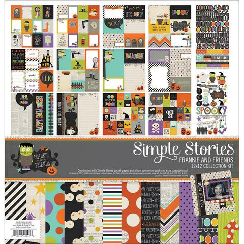 Simple Stories Collection Kit - Frankie and Friends