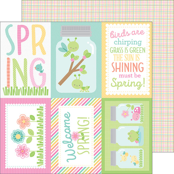 Doodlebug Cut-Outs - Spring Things - Butterfly Net
