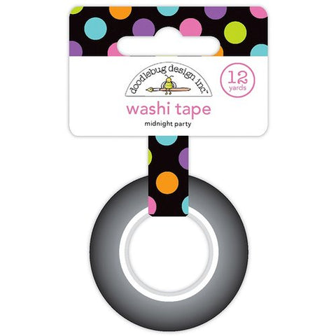 Doodlebug Washi Tape - Midnight Party