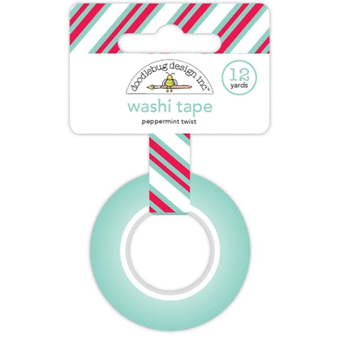 Doodlebug Washi Tape - Peppermint Twist