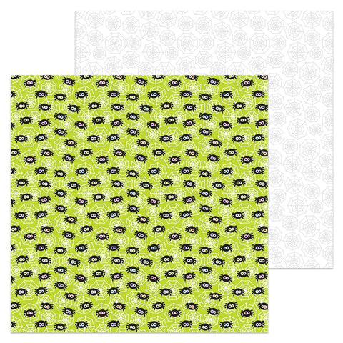 Doodlebug Design Papers - Booville - Spunky Spiders - 2 Sheets