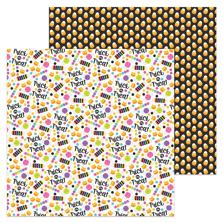 Doodlebug Design Papers - Booville - Dandy Candy - 2 Sheets
