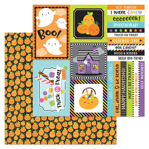 Doodlebug Design Cut-Outs - Booville - Pick-A-Pumpkin