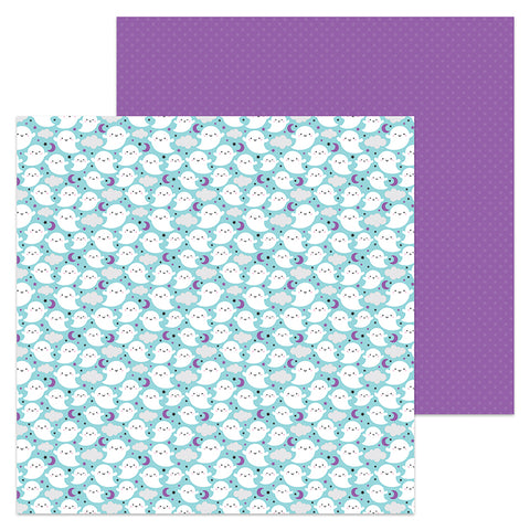 Doodlebug Design Papers - Booville - Fa-Boo-Lous - 2 Sheets