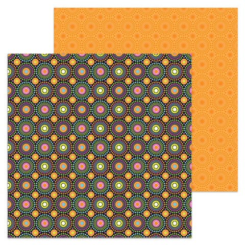 Doodlebug Design Papers - Booville - Hocus Pocus - 2 Sheets