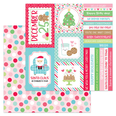 Doodlebug Design Cut-Outs - Milk & Cookies - Christmas Party