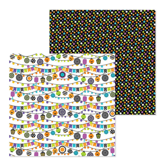 Doodlebug Design Papers - Pumpkin Party - Pumpkin Party - 2 Sheets