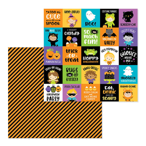 Doodlebug Cut-Outs - Pumpkin Party - Fun House